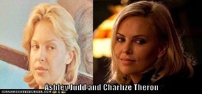 Ashley Judd and Charlize Theron