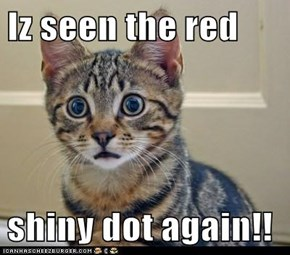 Iz seen the red  shiny dot again!!