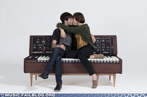 The Moog Synth Sofa