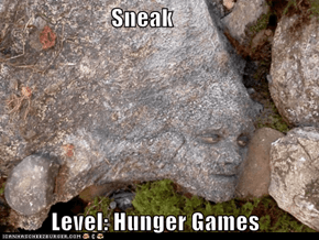 Sneak            Level: Hunger Games