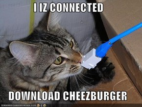 I IZ CONNECTED  DOWNLOAD CHEEZBURGER