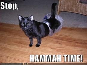 Stop,  HAMMAH TIME!