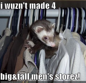 i wuzn't made 4  big&tall men's storez!