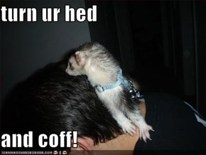 turn ur hed  and coff!