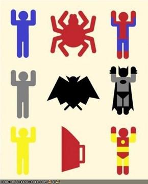 Superheroic Minimalism