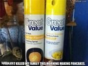 Pancake Spray